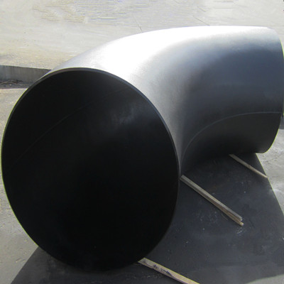 BW 90度弯头,ASTM A234 WPB, DN1200, WT Sch XS, LR, ASME B16.9
