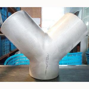 ASME B16.9 WYE, ASTM A403 WP316, 4 Inch, SCH 40S