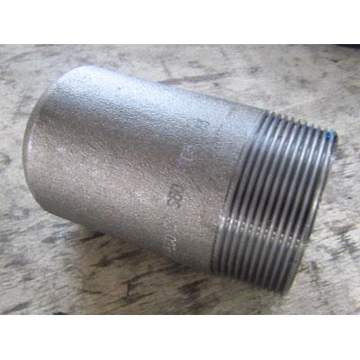 ASTM A105 Bull Head Plug, 2 Inch, SCH 80, NPT