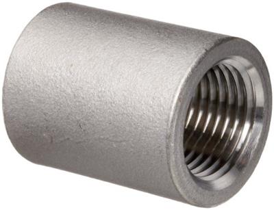 NPT螺纹耦合,ASTM A182 F304L,1英寸,SCH 40,B16.11