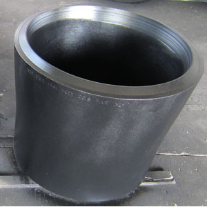 ASTM A234 WP91 Concentric Reducer, 16 X 14 Inch, SCH 100, Bevel Ends