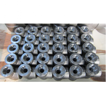 ASTM A105 Socket Weld Equal Tee, 1/2 Inch, 6000 LB