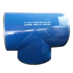 AWWA C208 Equal Tee, ASTM A234 WPB, DN1400×1400