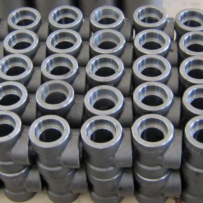 碳钢等径三通,ASTM A105,CL3000,DN25,SW,ASME B16.11