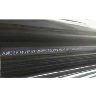 API 5L Gr.B Black Steel Pipe, BS1387, 6 Inch, L 6m, Heavy