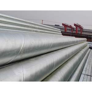 热浸镀锌钢锯管,ASTM A53 Gr.B, B36.10, 16英寸