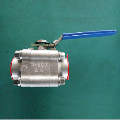 A182 Gr.F316L Full Bore Ball Valve, Floating Type, CL800, 1IN