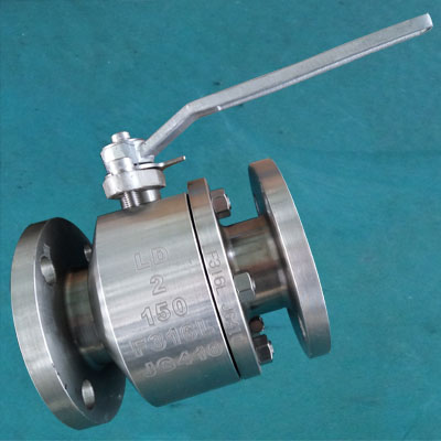 A182 Grade F316L Floating Ball Valve, API STD 608, 2IN, CL150