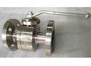 ASTM A182 F51 Floating Ball Valve, Full Port, Class 300, 1 Inch, RF