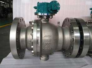 ASTM A182 F51 Floating Ball Valve, Full Port, Class 300, 10 Inch