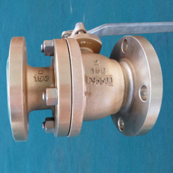 B763 C95500 Full Bore Floating Ball Valve, API STD 60, CL150, 2IN