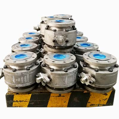 凸面球阀,ASTM A105N体,4英寸,150级,API 6D