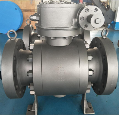 Raised Face Flanged Ball Valve, ASTM A105, 900 LB, 6 Inch