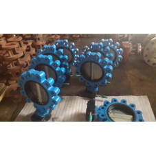 A352 Grade LCC Lug Type Butterfly Valve, 8 Inch