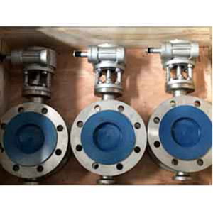Double Flange Butterfly Valve, A351 CF8, PN20, DN100