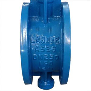 Ductile Iron ASTM A536 Butterfly Valve, PN20, DN250