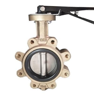凸耳同心蝶阀,ASTM B148 C95400,铝青铜