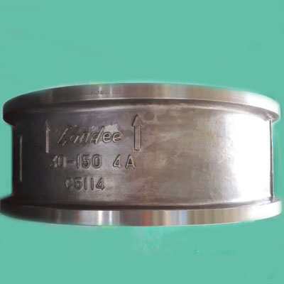 ASTM A890 4A Dual Plate Wafer Check Valve, CL150, 30IN, RF End