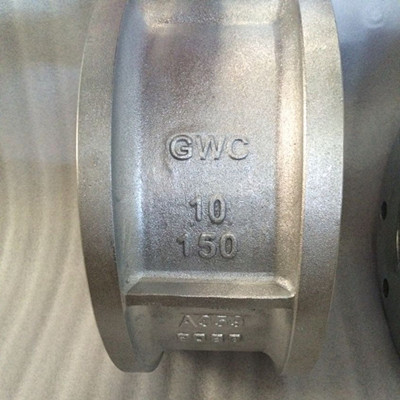 Dual Plate Wafer Check Valve, A359, 10 Inch, Class 150, Flanged FF