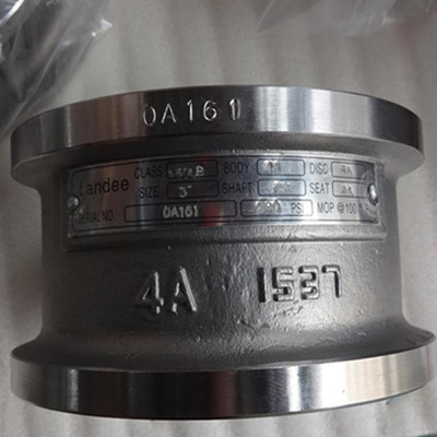 Dual Plate Wafer Check Valve, ASTM A890 4A, 3 Inch, 150 LB