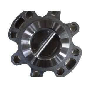 Dual Plate Wafer Lug Check Valve, ASTM A890-5A, 4 Inch, 300#