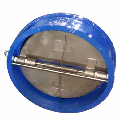 Epoxy Coated Wafer Check Valve, Ductile Cast Iron, CL120, 24IN