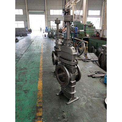A216 WCB Through Conduit Slab Gate Valve, 16IN, CL150, RF
