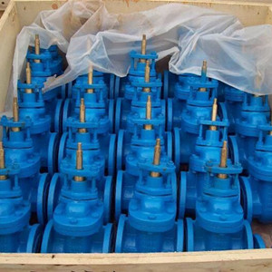 Ductile Iron GGG40 Gate Valve, Metal Seat, BS 5163, 6IN, CL120
