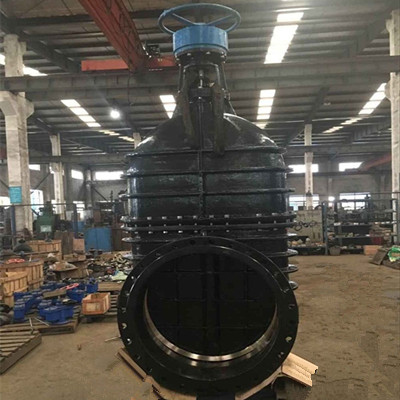 Flanged Gate Valve, Ductile Iron GGG40, 40 Inch, 120 LB