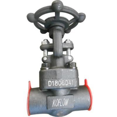 SW实心楔形闸阀,ASTM A105,明杆,2英寸,CL800