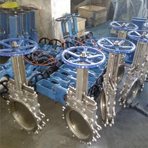 Lugged Type Knife Gate Valve, SS 304, 6 Inch, Class 120