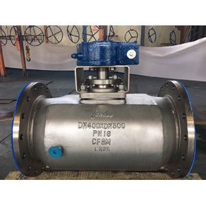ASTM A351 CF8M Plug Valve, Double Heating Jacketed