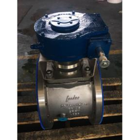 Double Heating Jacketed Plug Valve, A351 CF8M, 3 Inch X 4 Inch, CL120