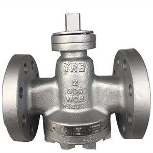 Inverted Pressure Balance Lubricated Plug Valve, A216 WCB, 2 Inch