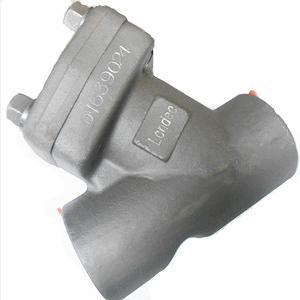 ASME B16.34 Y-Type Strainer, SS304, 1 1/4 Inch, 3000LB, BW