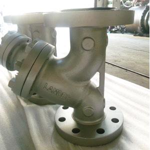 ASTM A216 WCB Y Stainer, ANSI B16.34, 3 Inch, 300LB, RF