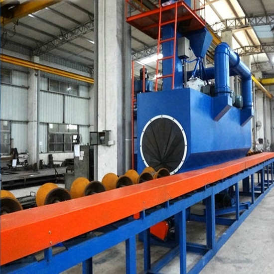 Steel Pipe Shot Blasting Machine, Surface Cleaning