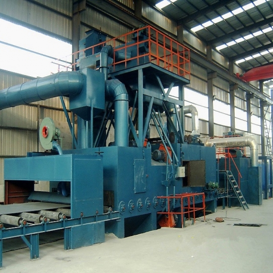 Steel Plate Preservation Line, Blasting, Painting, Drying