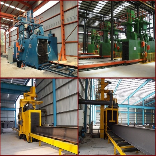 Steel Structure Shot Blasting Machine, Paint Preparation