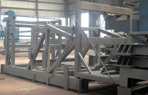Steel Structure Shot Blasting Machine, Paint Preparation