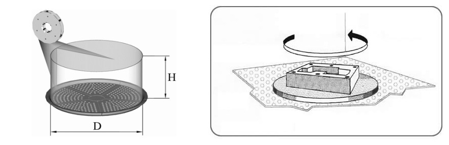 Rotary Table Shot Blasting Machine, For Metal Polishing