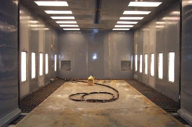 Air Blast Chamber, Air Blasting Room