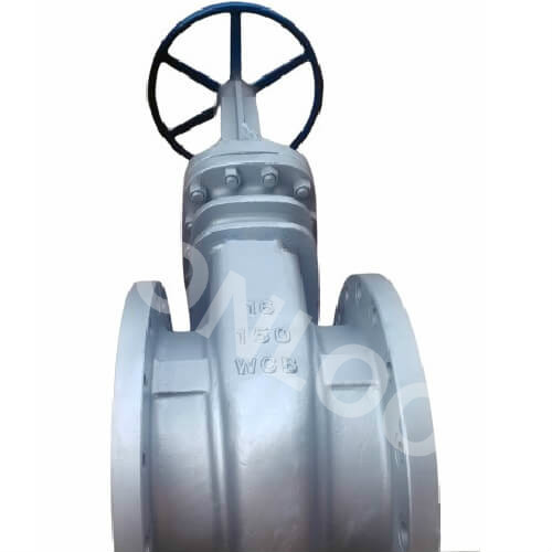16 Inch Flanged Gate Valve 150 LB RF A216 WCB Material Bolted Bonnet