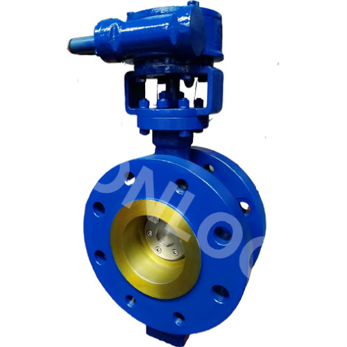 Butterfly Valve 5 Inch 600 LB Double Flanged End A216 WCB
