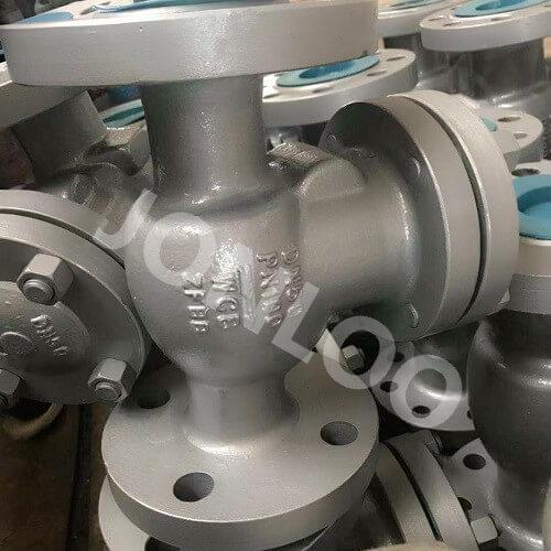 Carbon Steel Check Valve Swing Type PN100 DN50 DIN Standard