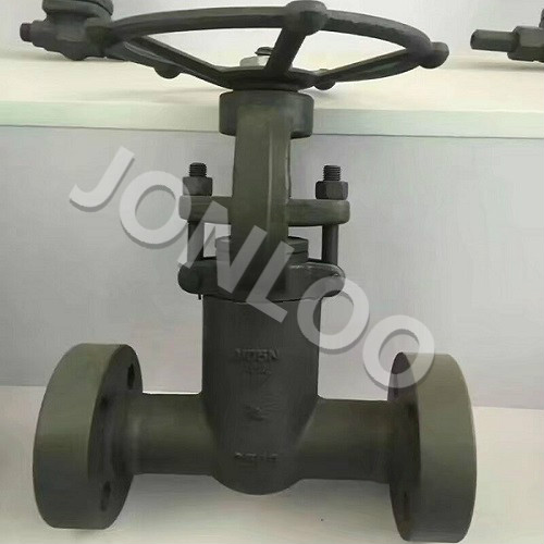 Integral Flanged Forged Gate Valve with Pressure Sealed Bonnet A105 2500 LB 2 INCH