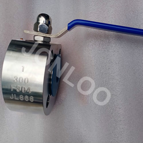 Monoblock Wafer Type Ball Valve F304 300LB 1inch