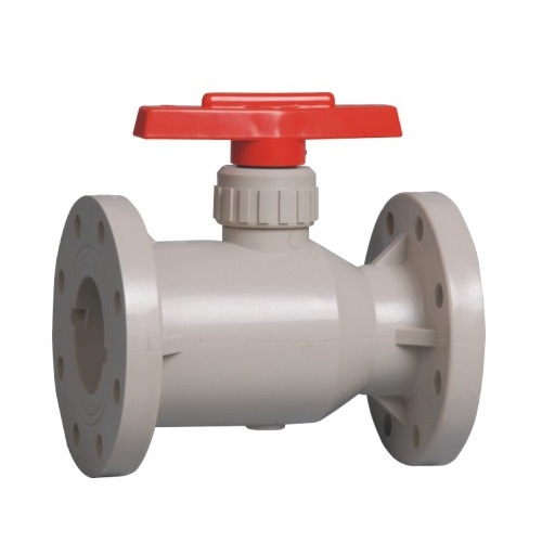 Best Quality PPH Flange Ball Valve Chemical Valve Plastic Valve