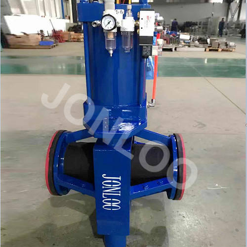 Pinch Valve With Double Pneumatic Actuator