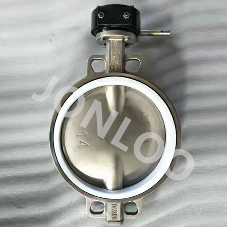 Wafer Butterfly Valve SS316 Body and Disc PTFE Seat 150LB